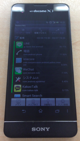 Sony Xperia SX SO-05D Battery Mix