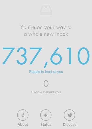 mailbox count down