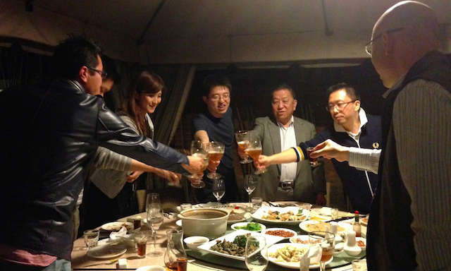 Drinking in Fuzhou