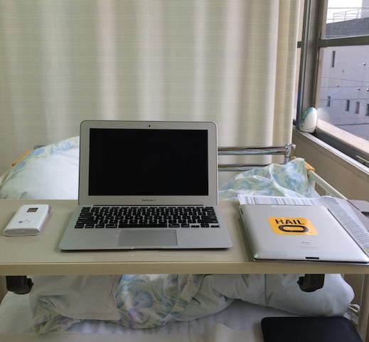 Desk in Setagaya Shimoda Hospital