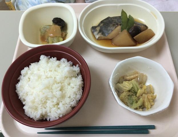 Food in Setagaya Shimoda Hospital