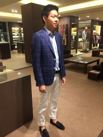 Ermenegildo Zegna Order Made Jacket