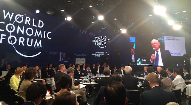 Klaus Schwab in WEF Japan MTG 2014