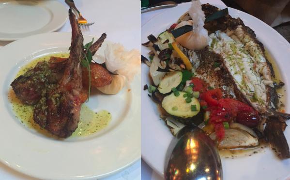 Evvia Delicious Main Dishes