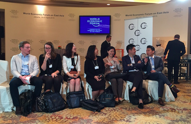 WEF on East Asia 2015 Global Shapers