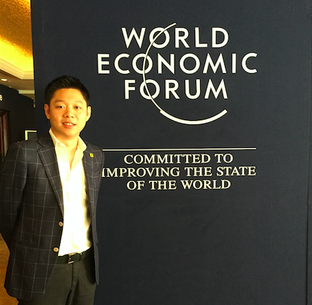 WEF on East Asia 2015 Ryo Umezawa