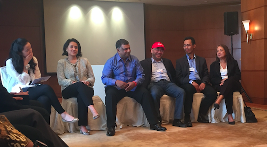 WEF on East Asia 2015 Tony Fernandes