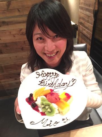 Mio Takaoka Birthday