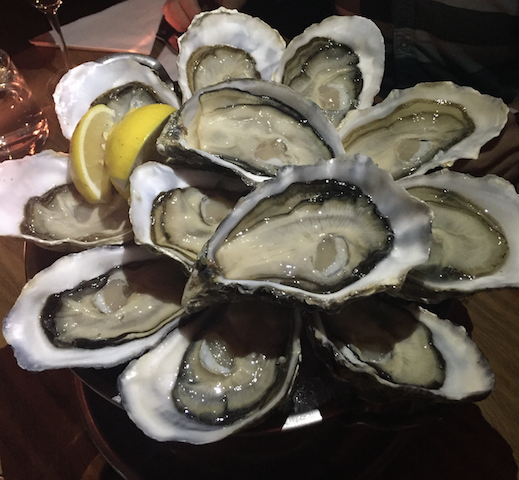 The Plump Oyster Oysters