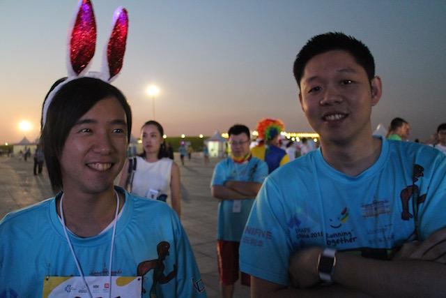 SHAPE China 2015 Run To Hope Shuhei Ryo
